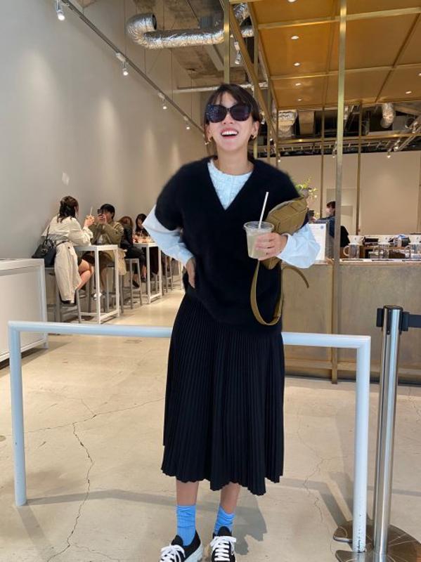 【再販/予約販売】mini frill blouse【2色展開】※12月下旬頃より順次発送予定