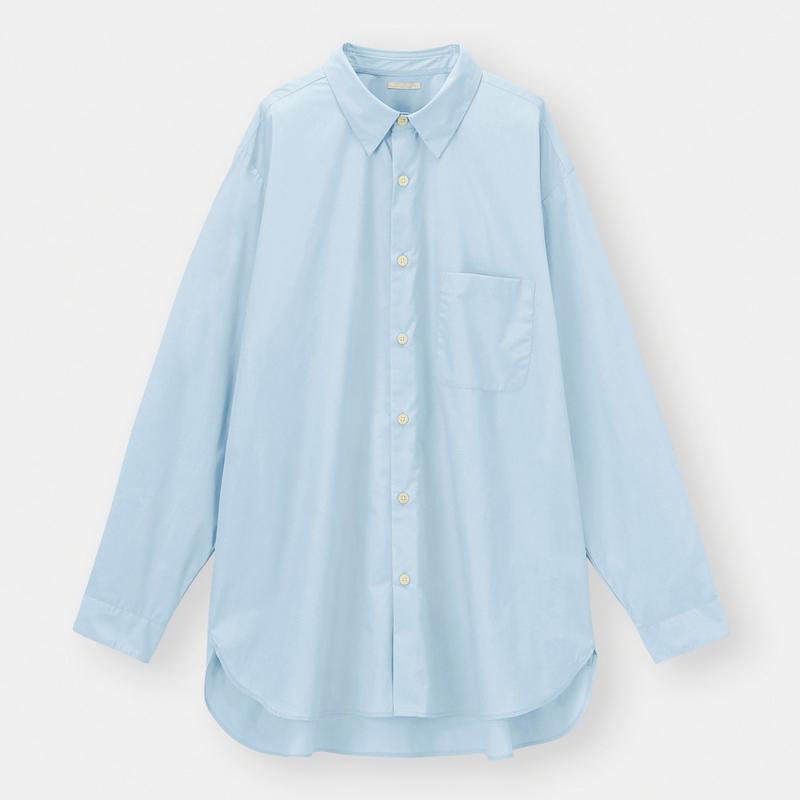 ブロードオーバーサイズシャツ(長袖)