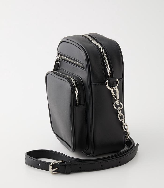【5月17日まで期間限定価格】3D POCKET SQUARE SHOULDER BAG/3Dポケットスクエアショルダーバッグ