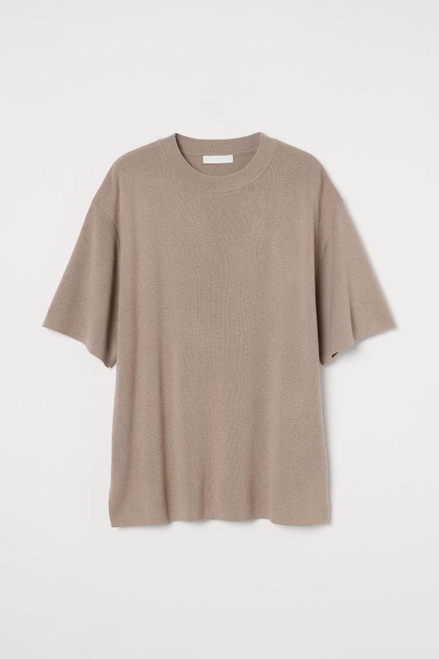ファインニットTシャツ