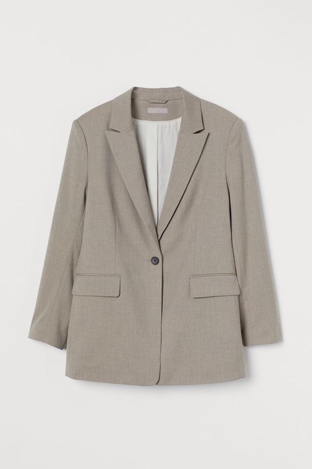 シングルブレストジャケット