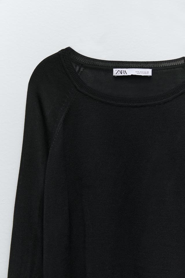 ベーシックニットセーター