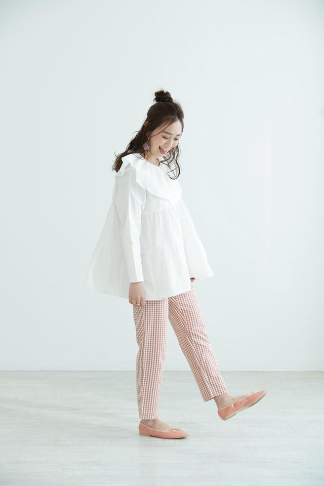 sailor tiered blouse
