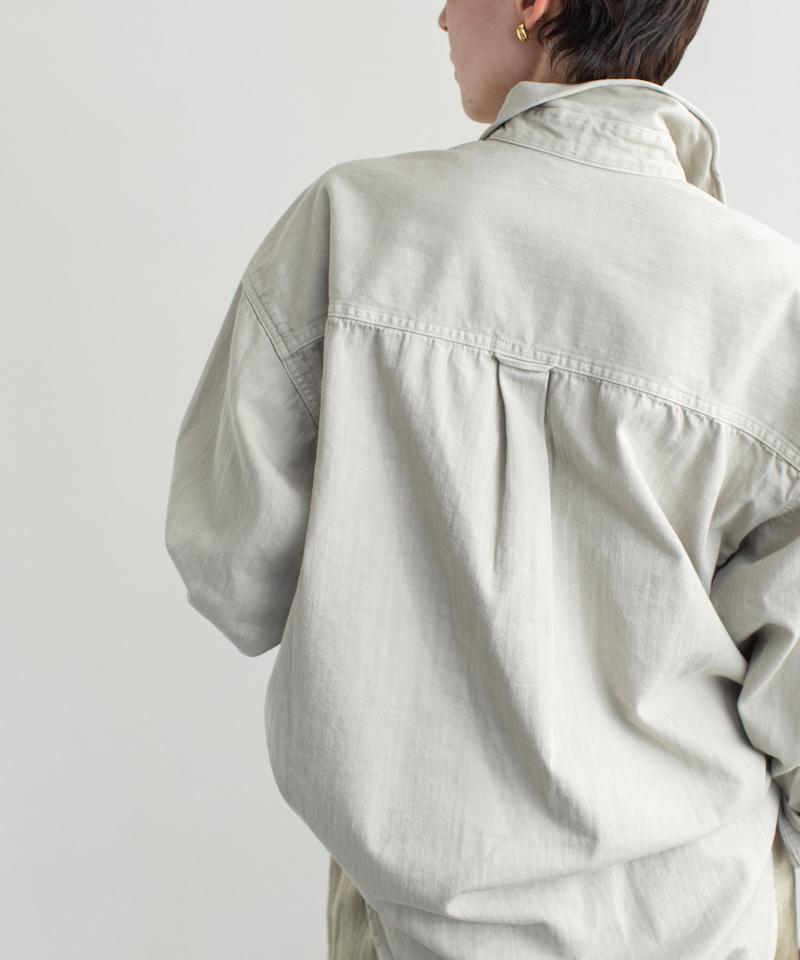 【YANUK】別注CPOデニムシャツ