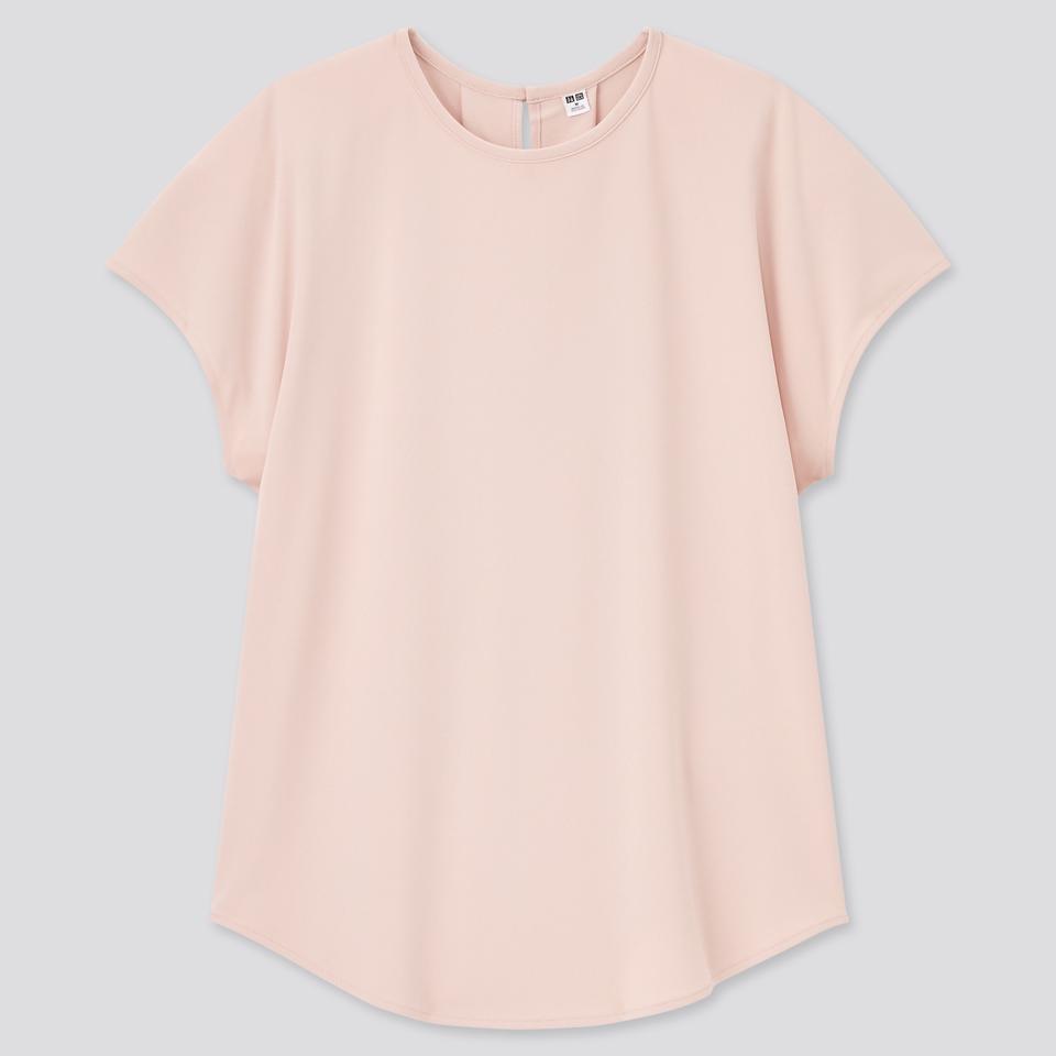 クレープジャージーフレンチスリーブTシャツ(半袖)セットアップ可能