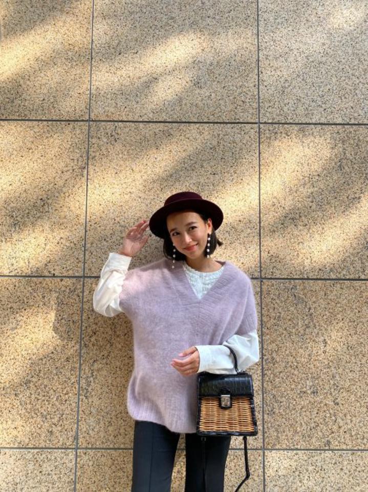【再々々販売/予約販売】mini frill blouse【whiteのみ】※1月下旬頃より順次発送