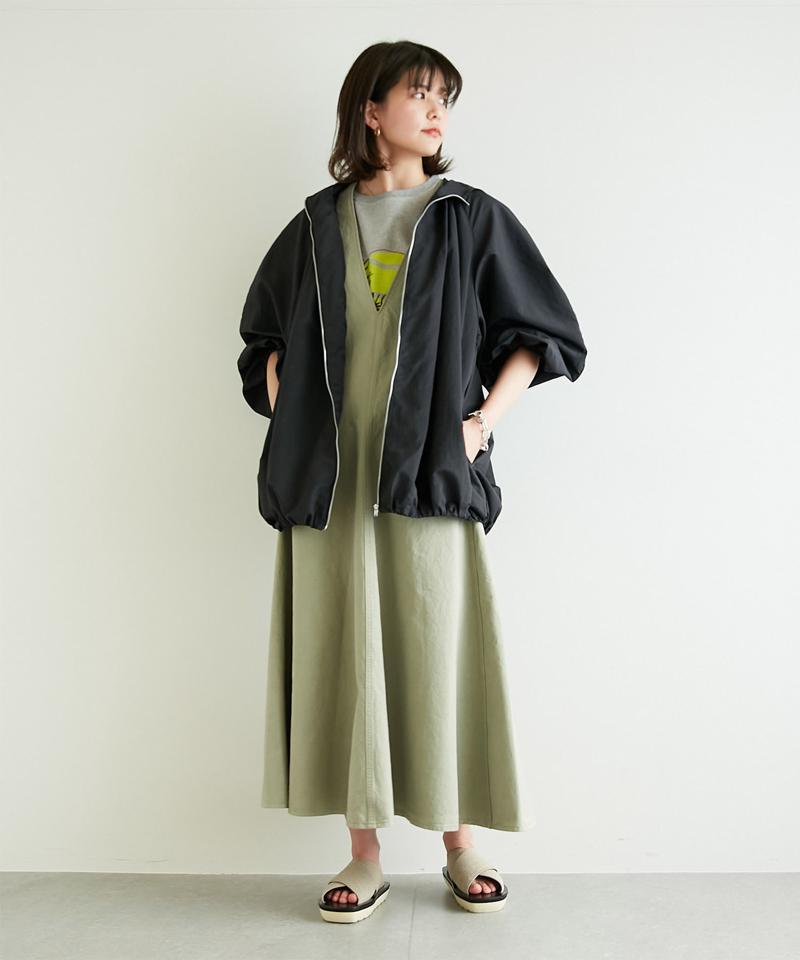 ギャザーライトブルゾン【オンラインストア限定商品】