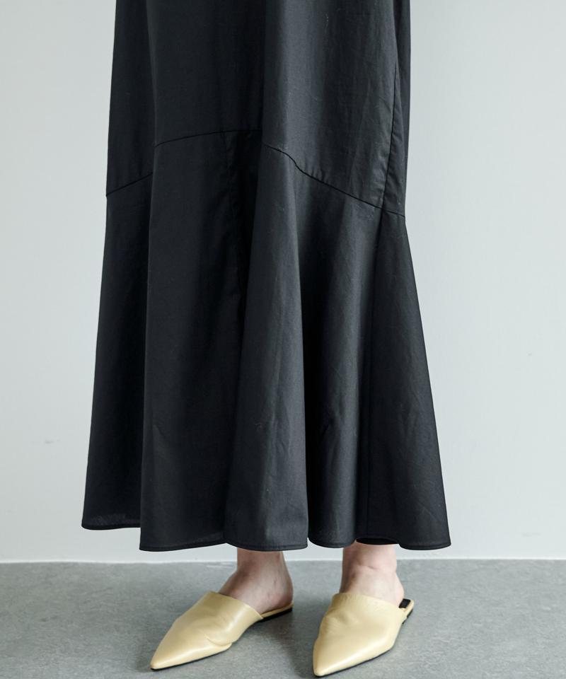 パフスリーブマキシワンピース【オンラインストア限定商品】