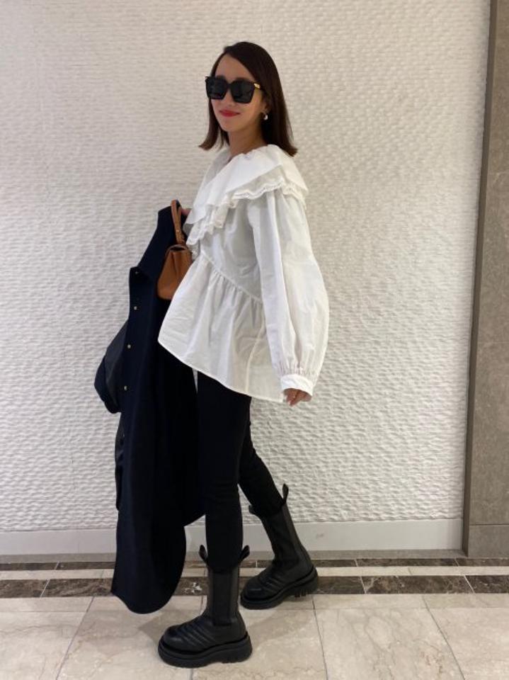 【再販/予約販売】Elizabeth lace blouse 【whiteのみ】※2月中旬頃より順次発送予定