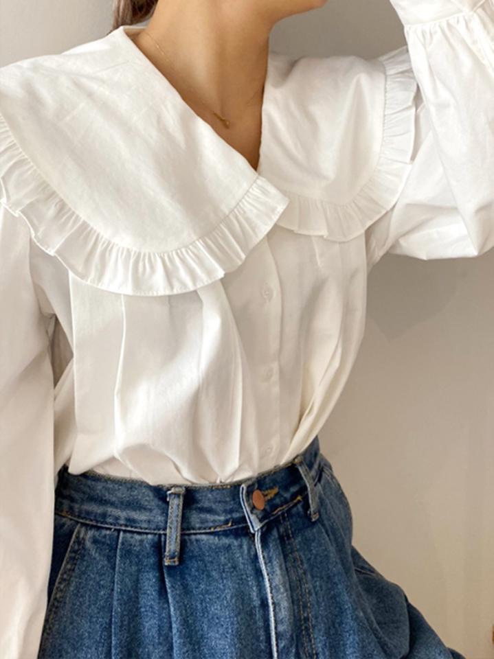 Big collar nice shirt