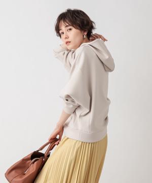 【《垣内彩未さん着用アイテム》手洗い可】ダンボールドルマンフーディ