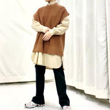 Half cardigan stitch vest