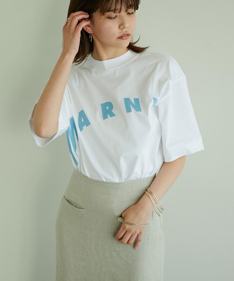 【MARNI】オーバーサイズロゴTシャツ