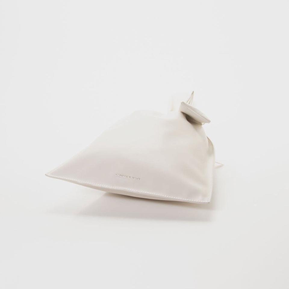 【2021 SPRING 新作】ノッテッドシングル ハンドルバック / Knotted Single Handle Bag (White)