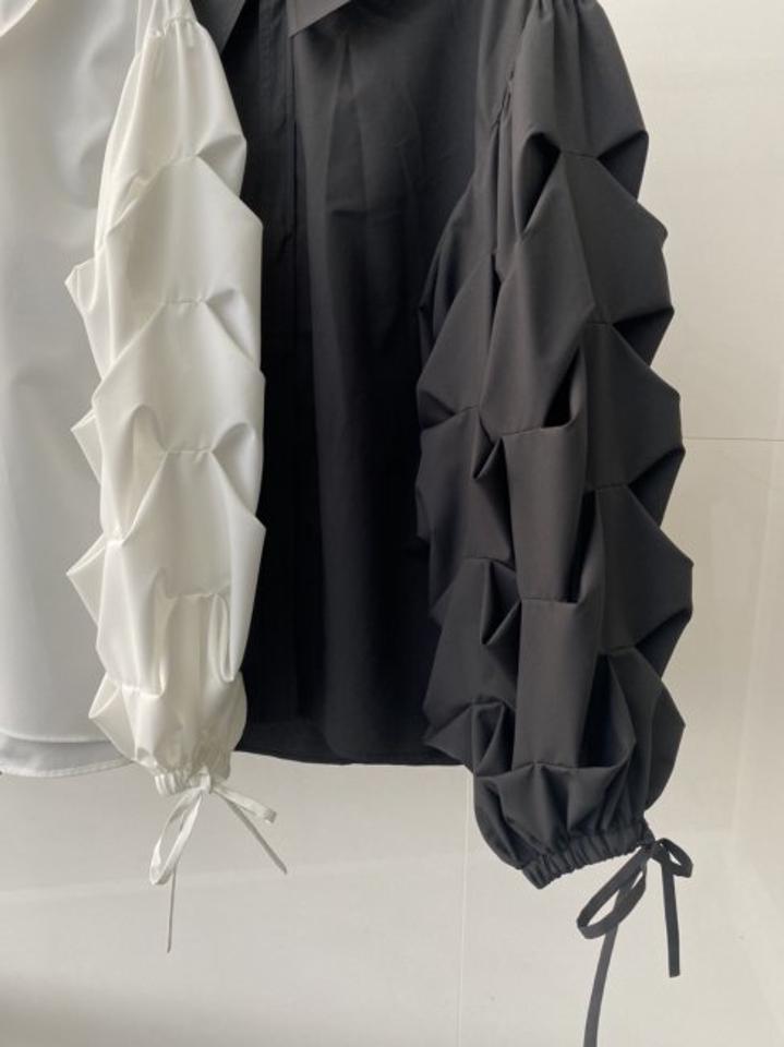 【予約販売】cloud blouse【2色展開】※3月中旬頃より順次発送予定
