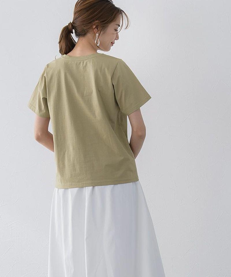 LUMINOUSシルケットロゴTシャツ MD