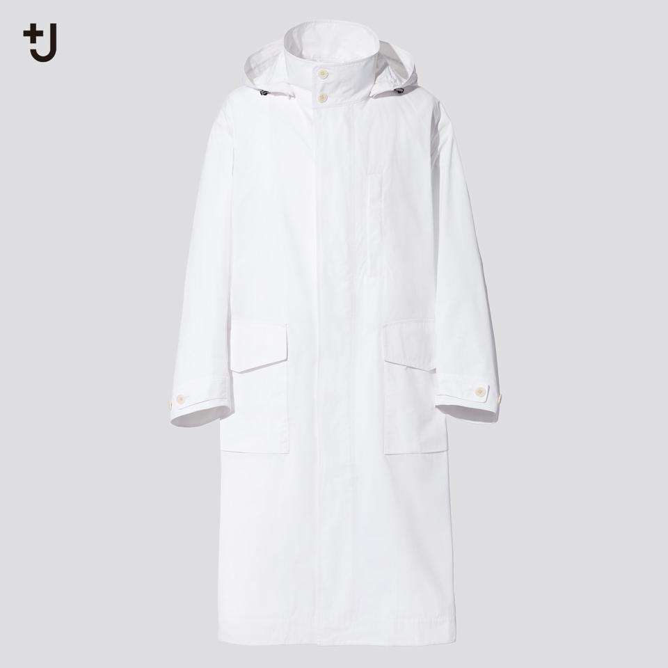 オーバーサイズフーデッド ロングコート
