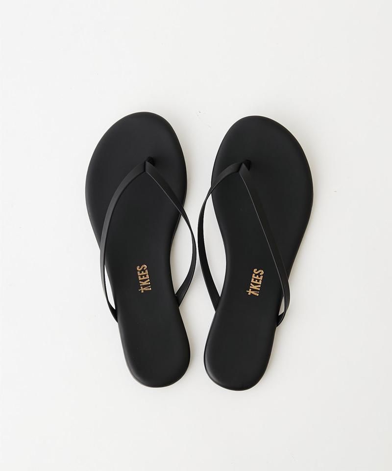 【TKEES】トングサンダル/Black