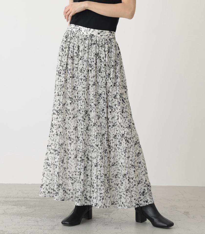 PEDICEL PLEATS SKIRT/ペディセルプリーツスカート