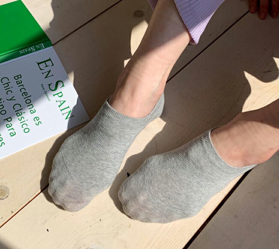 フェイクソックス・全6色・63085 レディース 【acc】【韓国 ファッション ソックス 靴下 リブソックス フェイクソックス ベーシック ショート ショートソックス カジュアル ガーリー くつ下 くつした 無地 シンプル 秋 春】