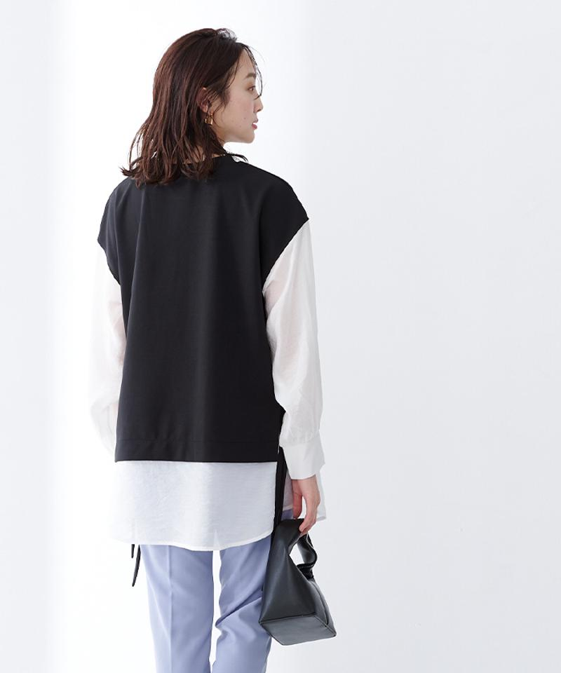 ポンチドッキングシャツプルオーバー【メール便可/100】