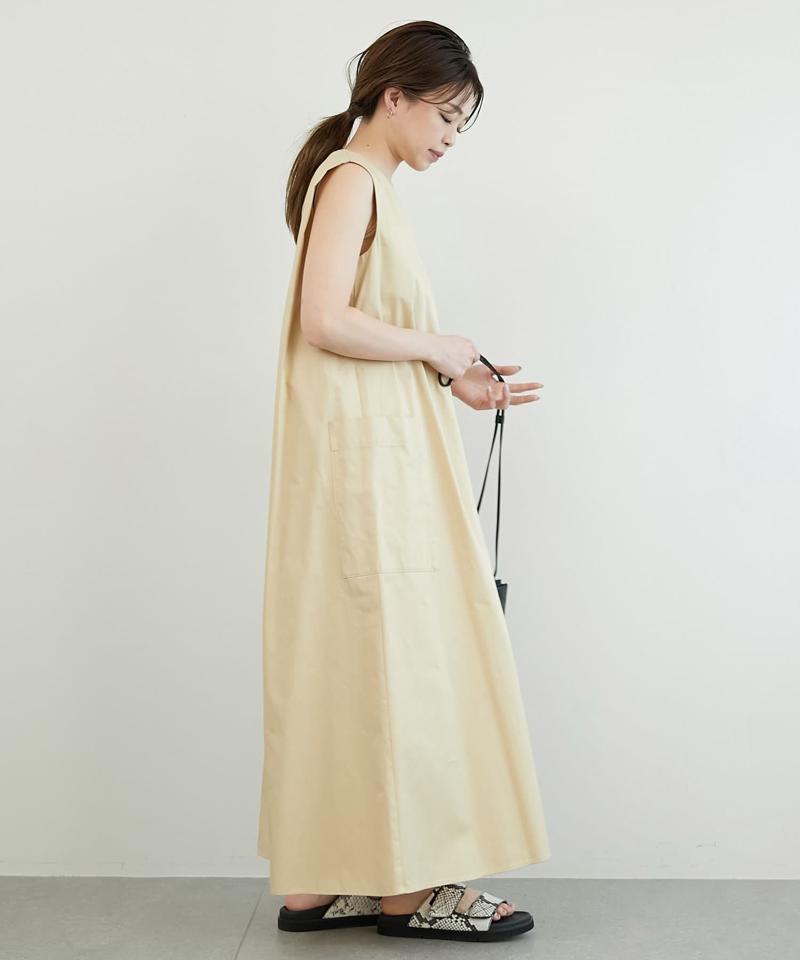 ノースリーブテントワンピース【オンラインストア限定商品】