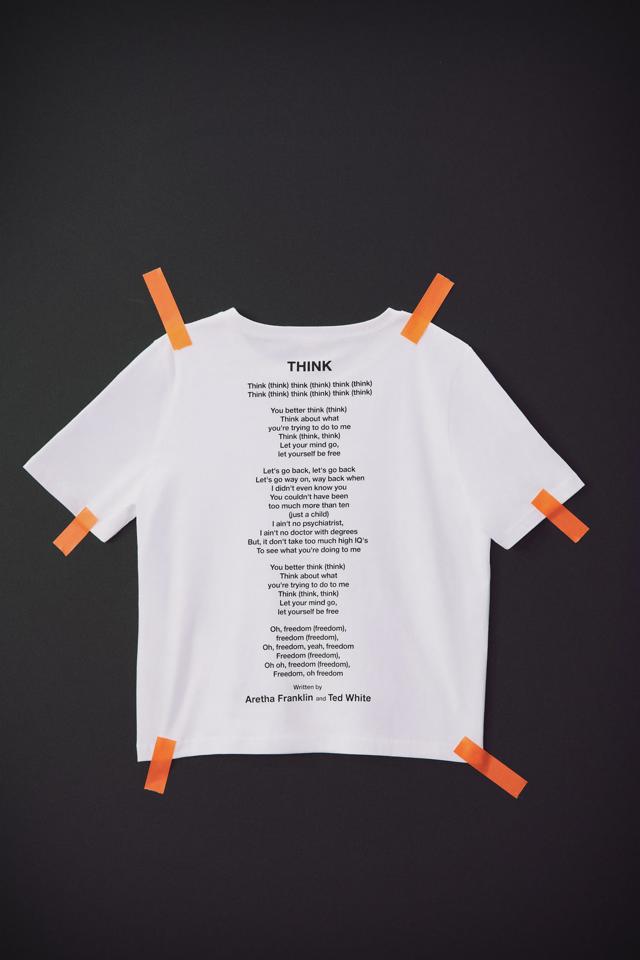アレサ・フランクリン&テッド・ホワイト © 1968 EMI BLACKWOOD MUSIC INC. Tシャツ