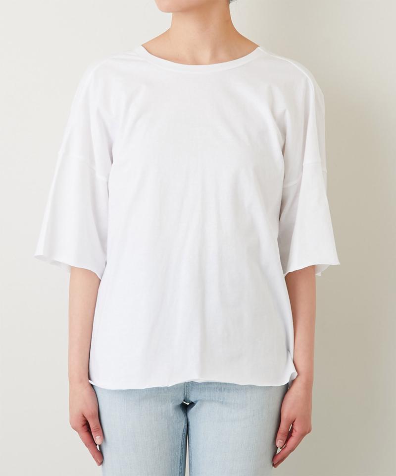バックツイストオーバーTシャツ【オンラインストア限定商品】