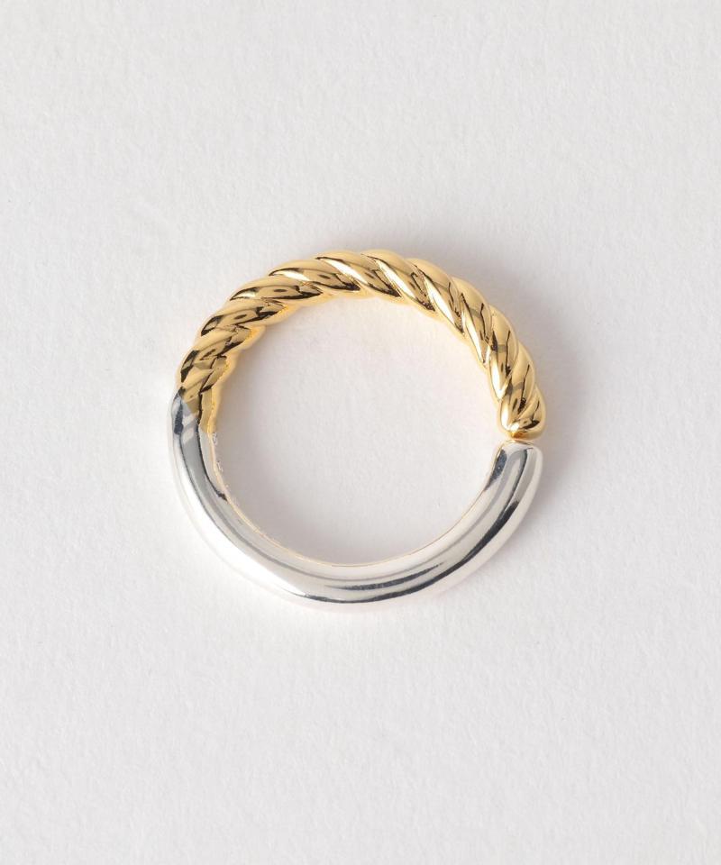 PHILIPPE AUDIBERT(フィリップオーディベール)アシメラインリング ミックス / 指輪【EMMEL REFINES】