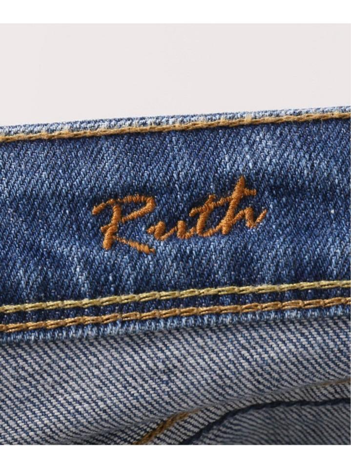 【YANUK/ヤヌーク】RUTH SLIM TAPERED 57103062 SCB