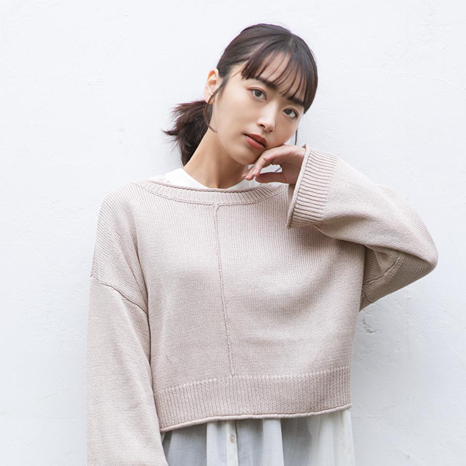 レディース ニットカーディガン(近藤千尋)
