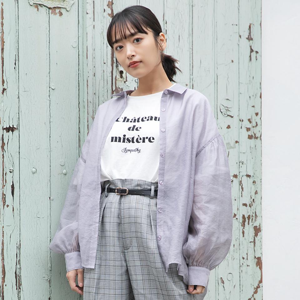 レディース シアーブラウス+Tシャツセット(近藤千尋)