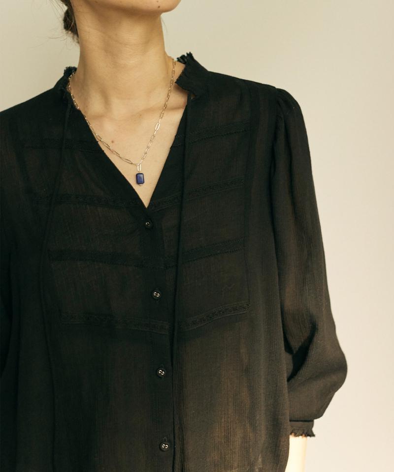【大草直子さんコラボ】ジェムストーンシルバーネックレス