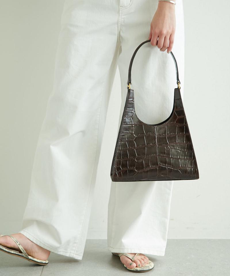 【STAUD】レザーハンドバッグ/REY BAG