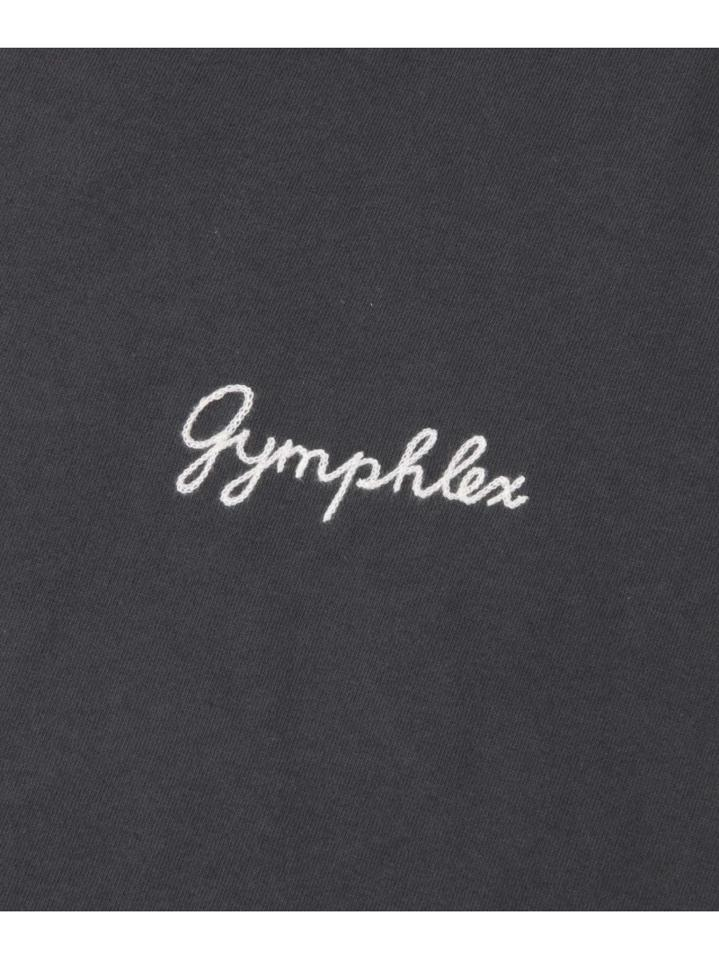 GYMPHLEX COMBED COTTON JERSEY T-SHIRTS(DOORS)