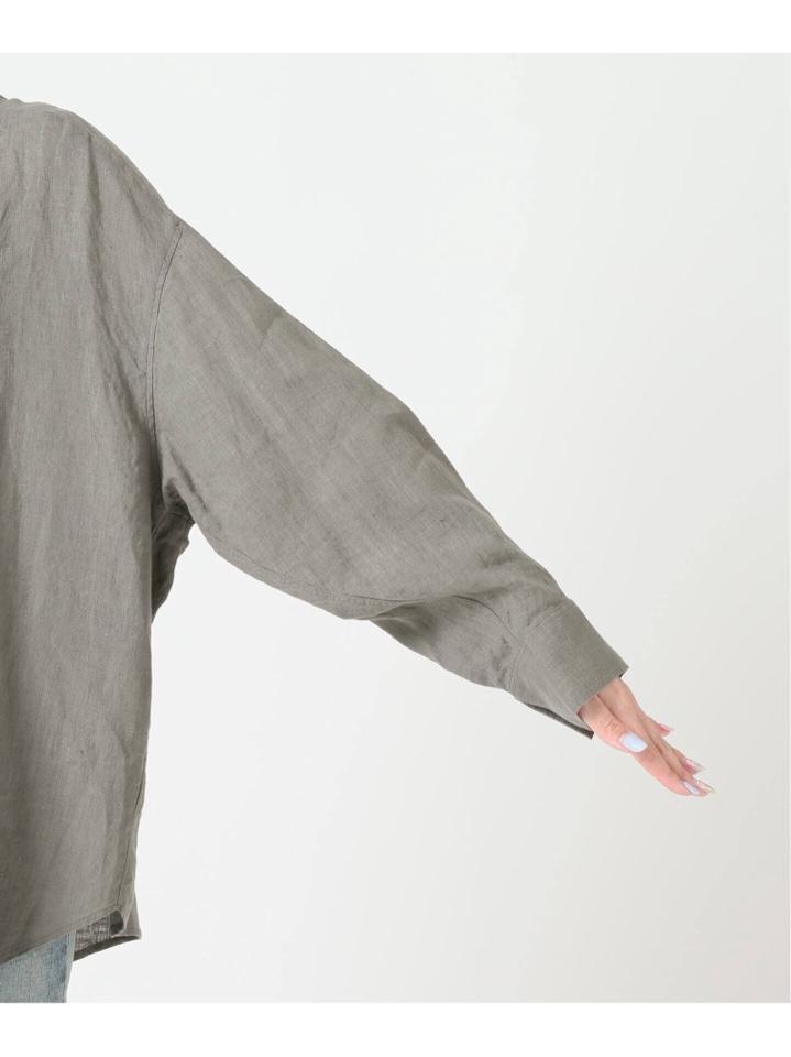 <<追加>>Linenボリュームシャツ2◆