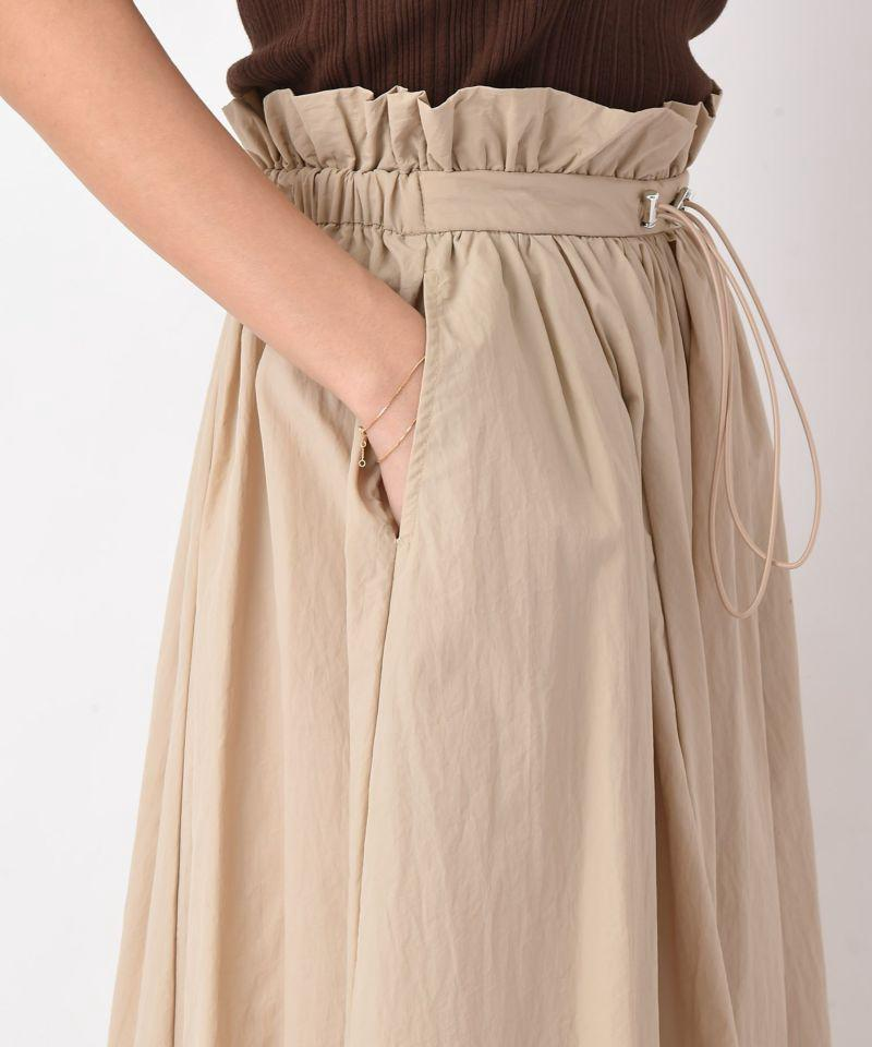 ウエストマークロングスカート