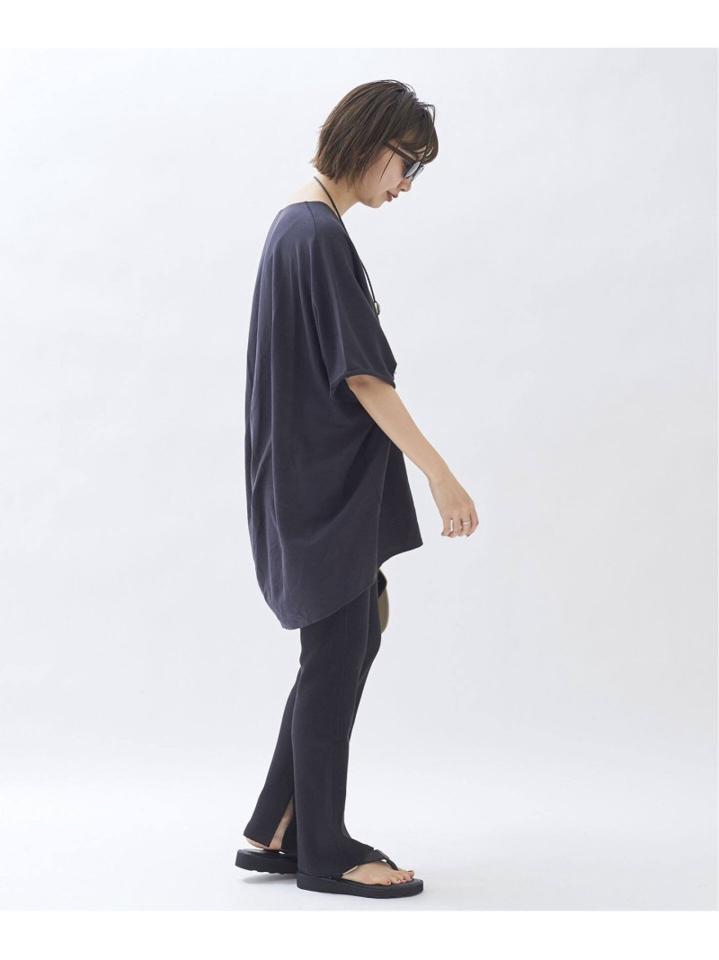 【CALUX/キャラクス】SLIT RIB パンツ◆