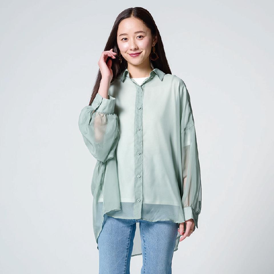 レディース シャツ+Tシャツセット(堀田真由)