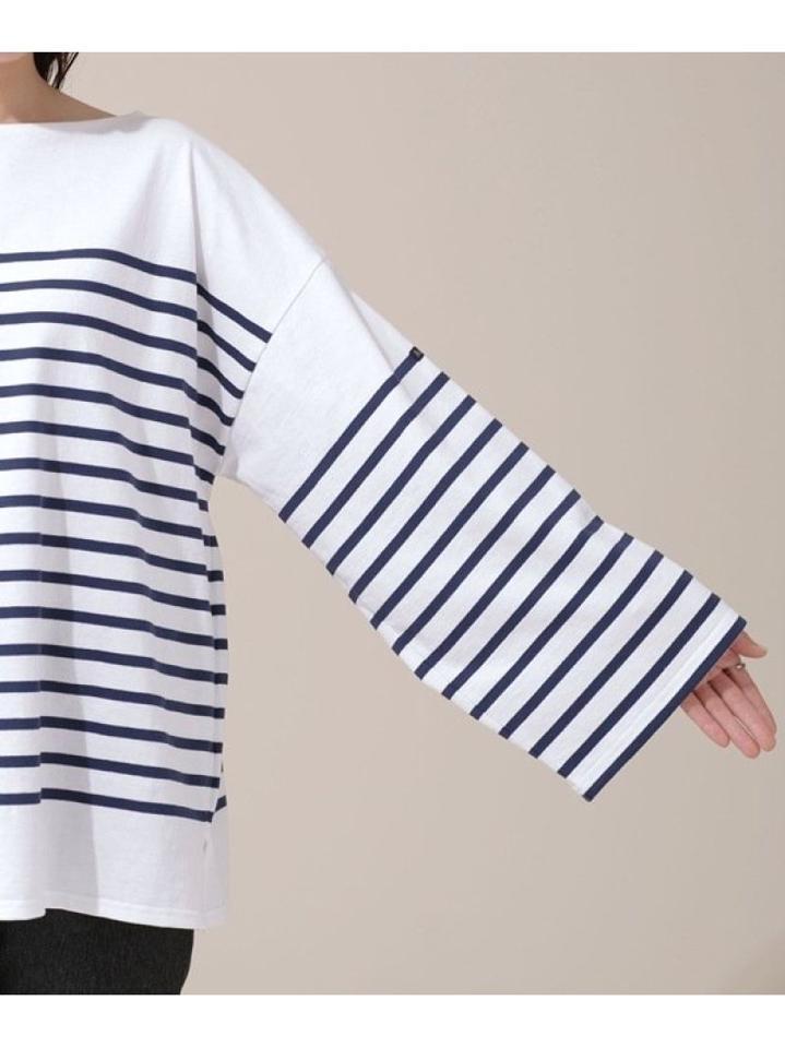 別注ボーダーTシャツ 長袖(Le minor)