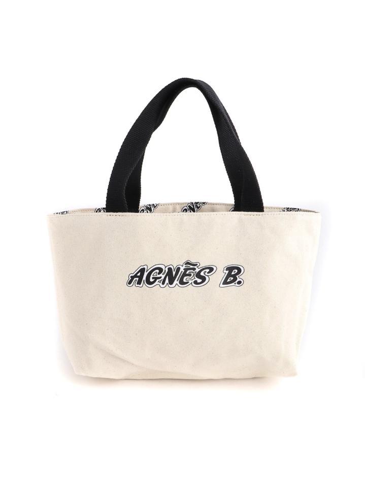 agnes b. VOYAGE/(W)QAS26-02リバーシブルトート(agnes b. VOYAGE)