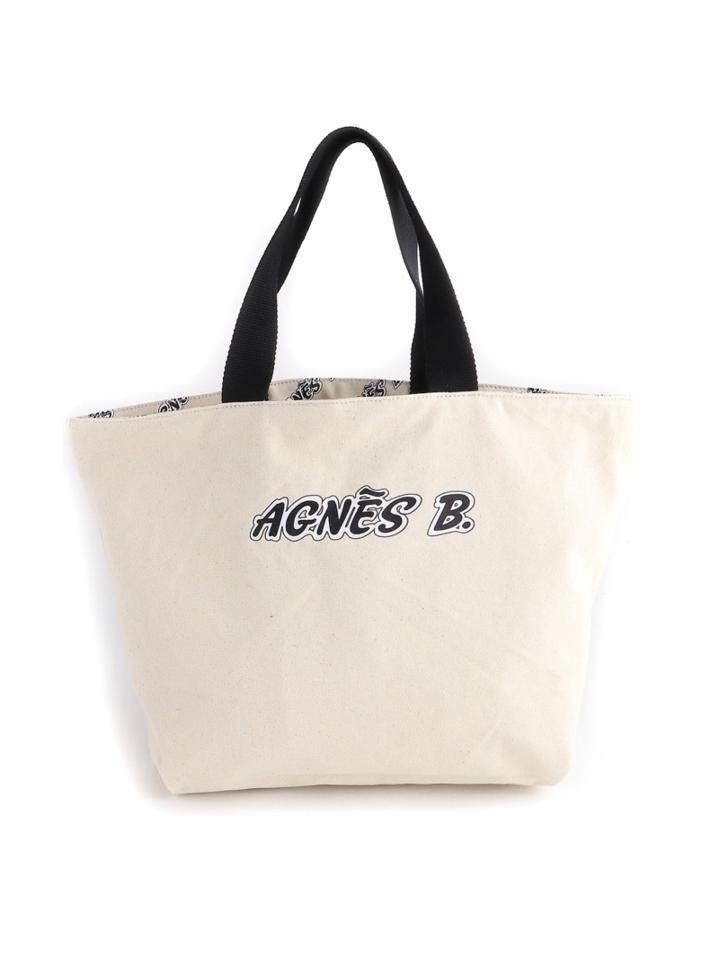 agnes b. VOYAGE/(W)QAS26-01リバーシブルトート(agnes b. VOYAGE)