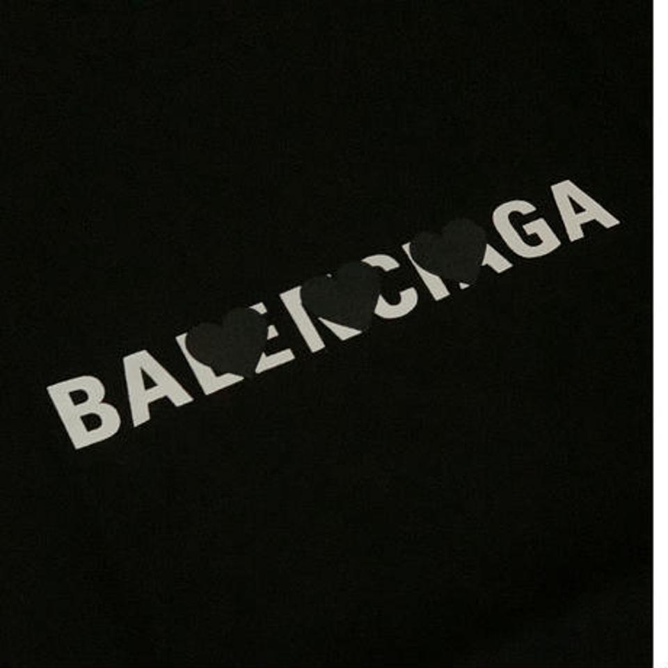 ユニセックスパロディ♡Tシャツ(XL ブラック)