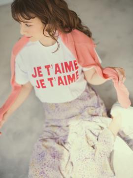 【Can Cam掲載】JET'AIME print tee