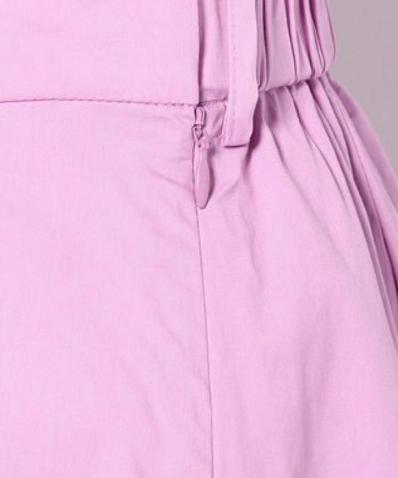 コットンタイプライターフィッシュテール スカート