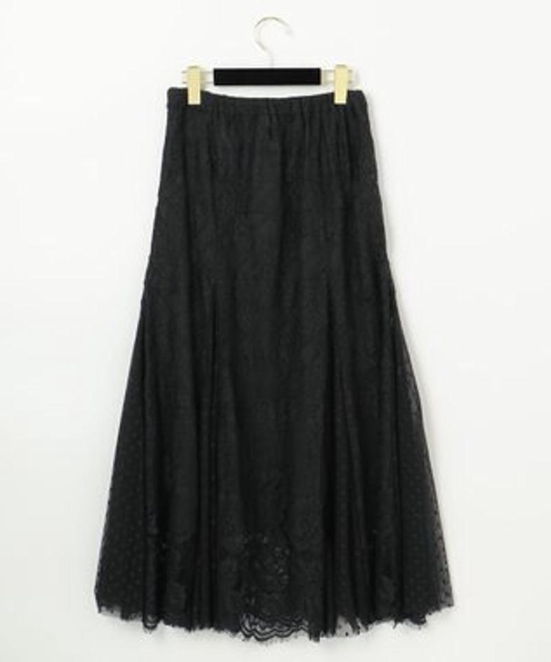レースコンビマーメイドスカート