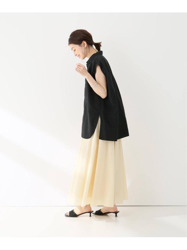 【HAVEL studio/ハーヴェル スタジオ】N/C BACK FLARE スカート