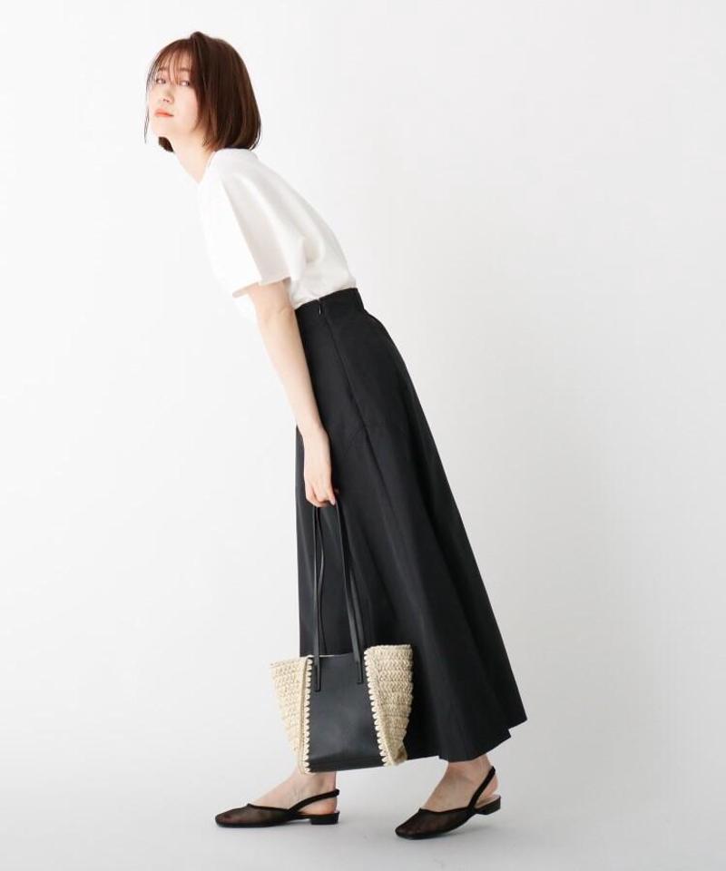 チノフレアデザインスカート【WEB限定サイズ】