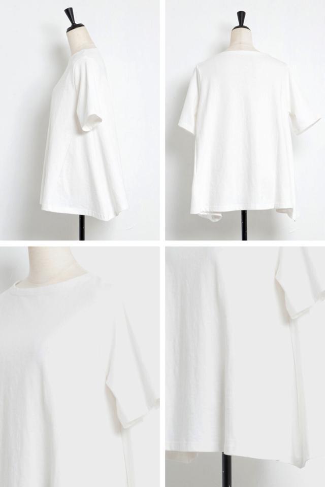 【一部予約】裾フレアTシャツ
