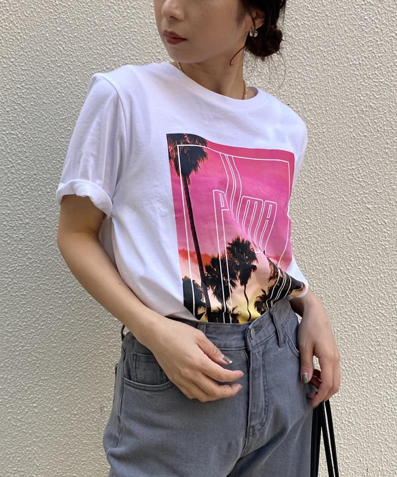 【PUMA/プーマ】グラフィックPHOTO Tシャツ
